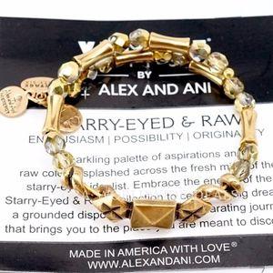 Alex And Ani Gold Stargazer Wrap Bracelet